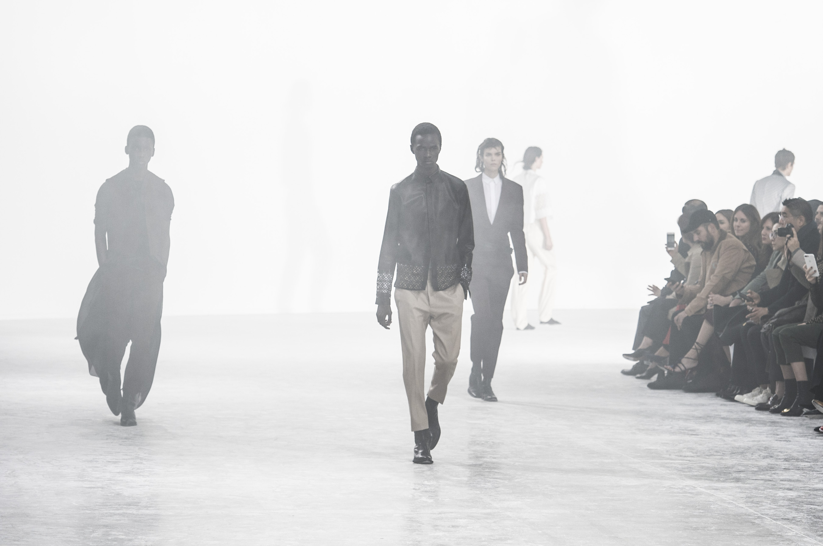 Haider Ackermann Spring 2019  Fashion Show Atmosphere