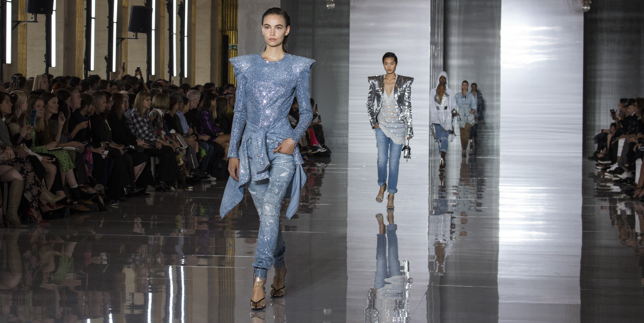 Canadian Tuxedo - Denim on Denim Fashion Trend Spring 2019