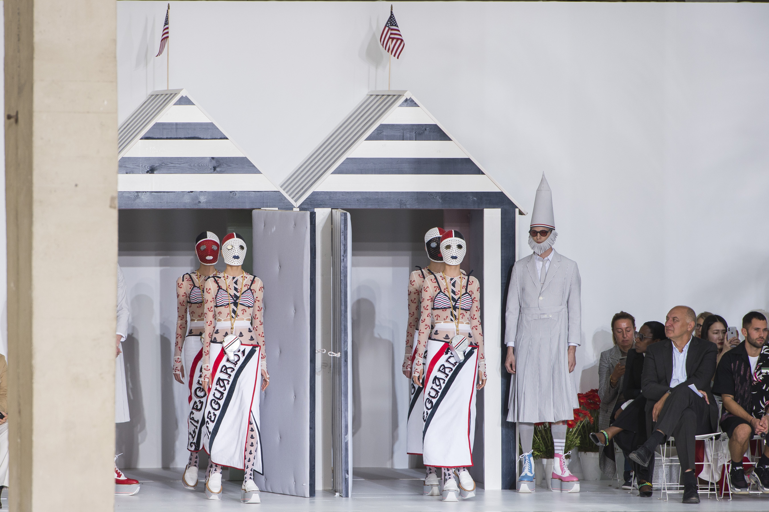 Thom Browne Spring 2019 Fashion Show Atmosphere Cont.