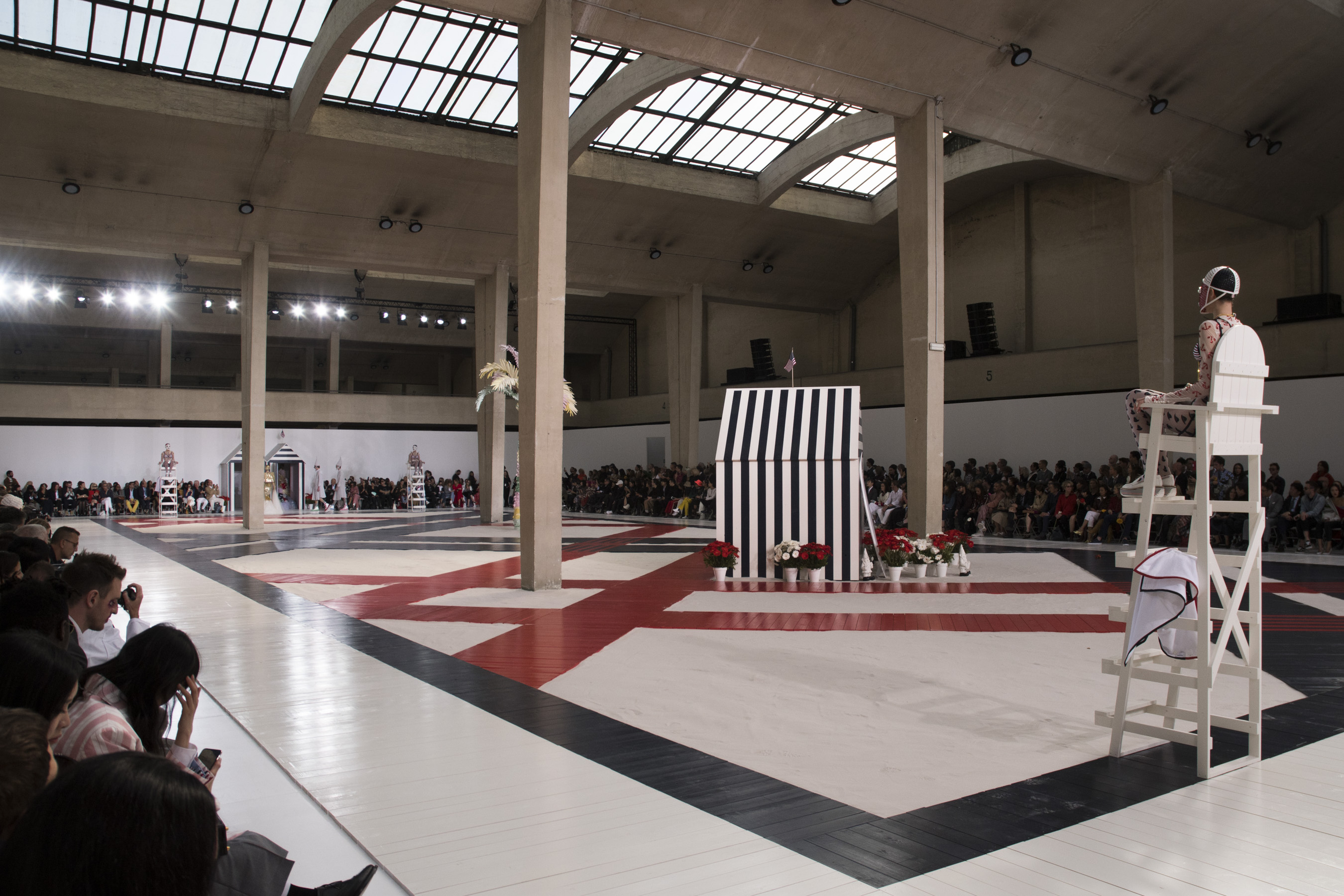 Thom Browne  Bis Spring 2019  Fashion Show Atmosphere