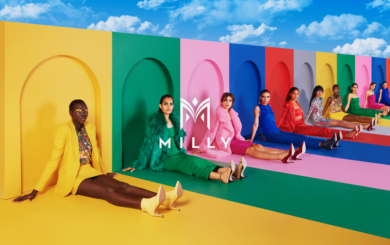 Milly Fall 2018 Ad Campaign by Sagmeister & Walsh
