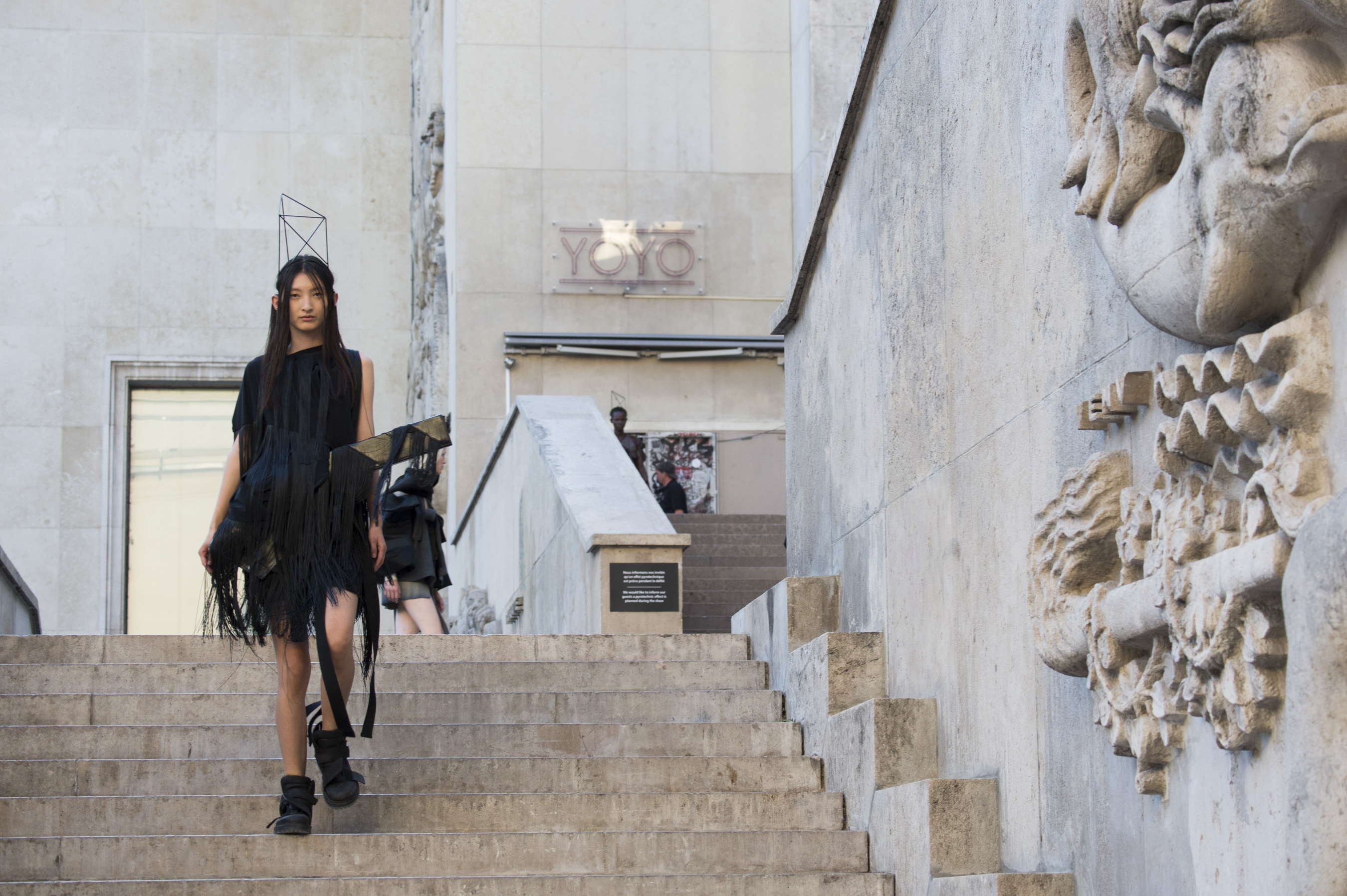 Rick Owens  Bis Spring 2019  Fashion Show Atmosphere