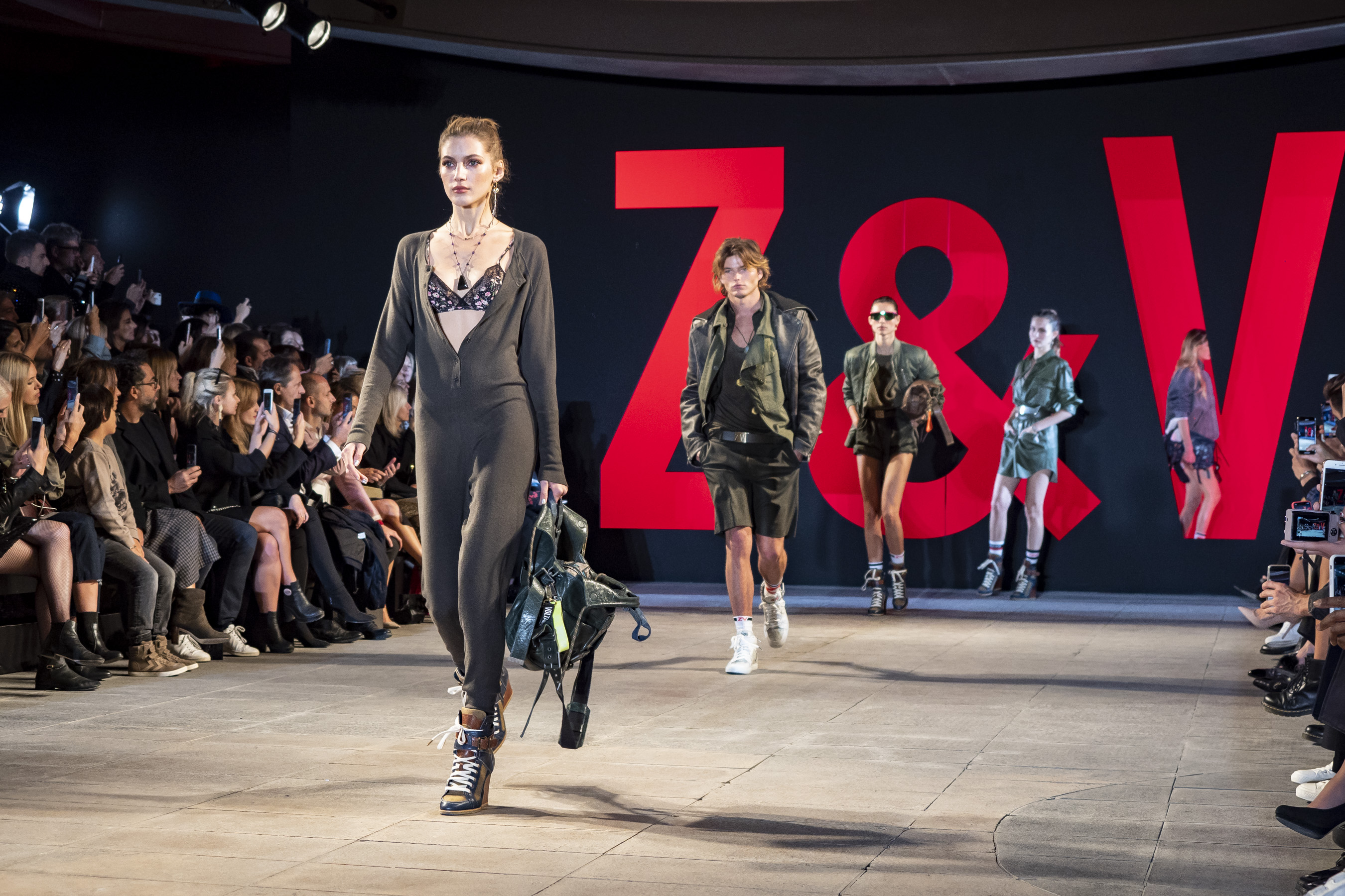Zadig & Voltaire Spring 2019  Fashion Show Atmosphere