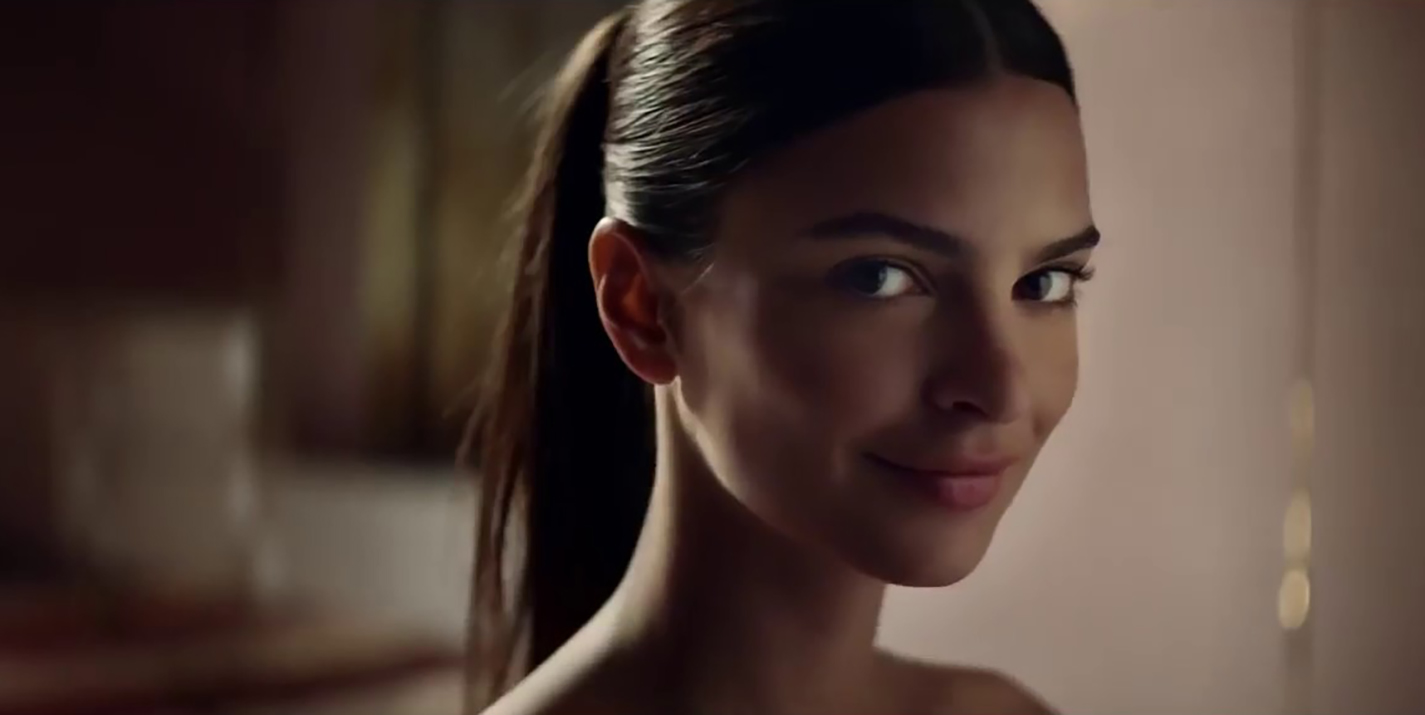 Paco Rabanne Emily Ratajkowski Gets Cheeky in Pure XS Spot