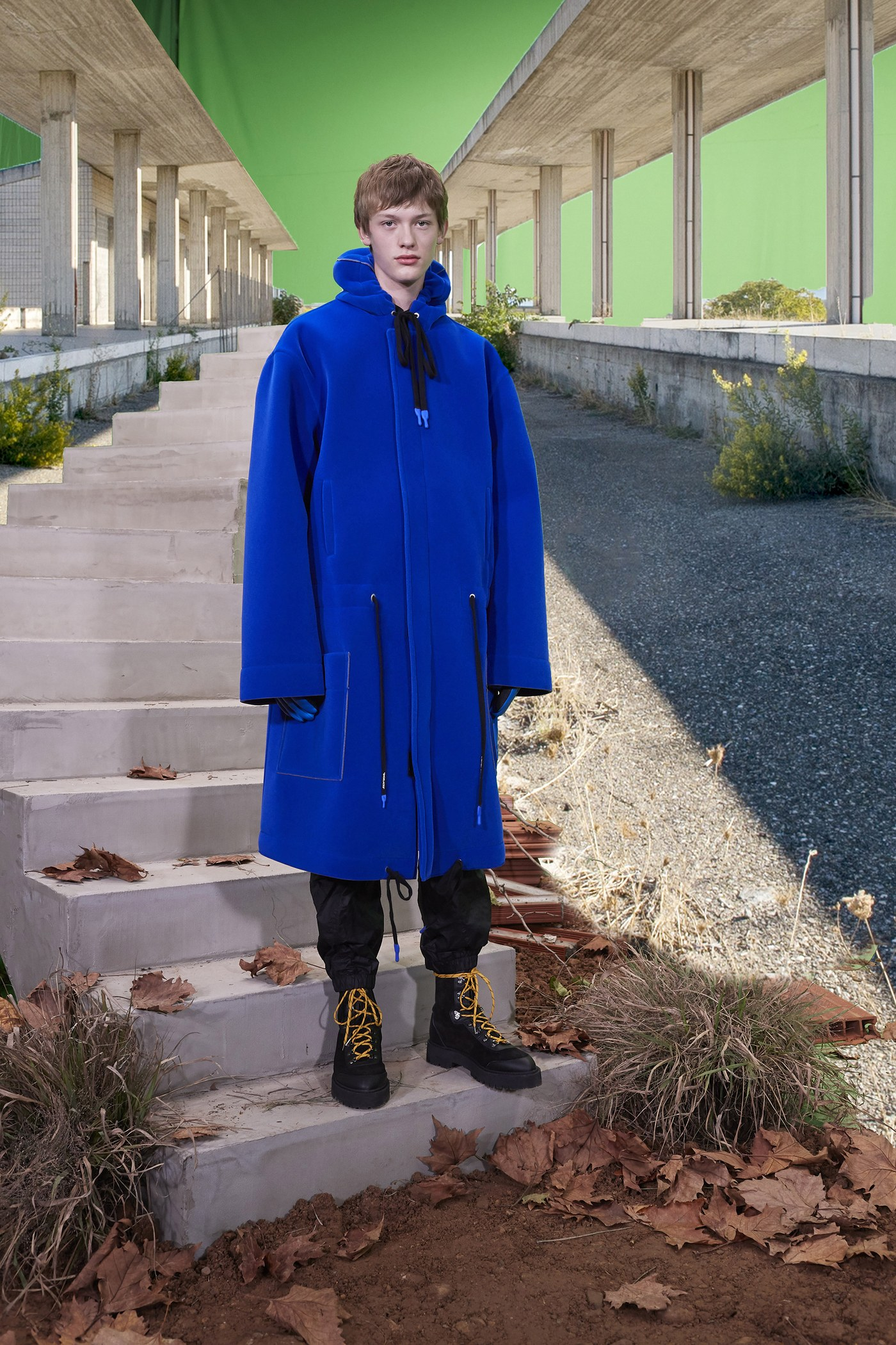 f-White Pre-Fall 2019 Menswear Collection by Virgil Abloh