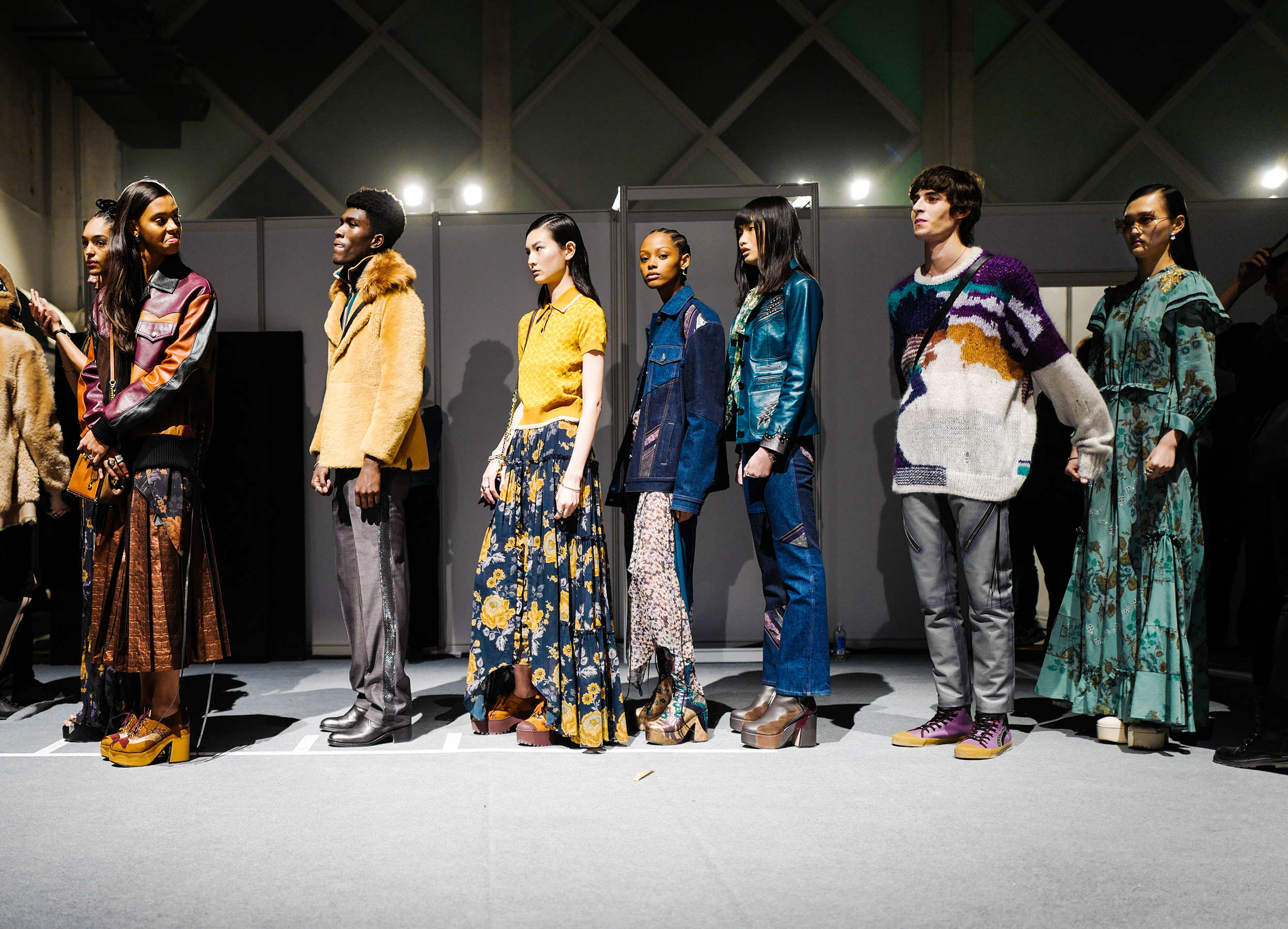 Coach Pre-Fall 2019 Fashion Show Backstage