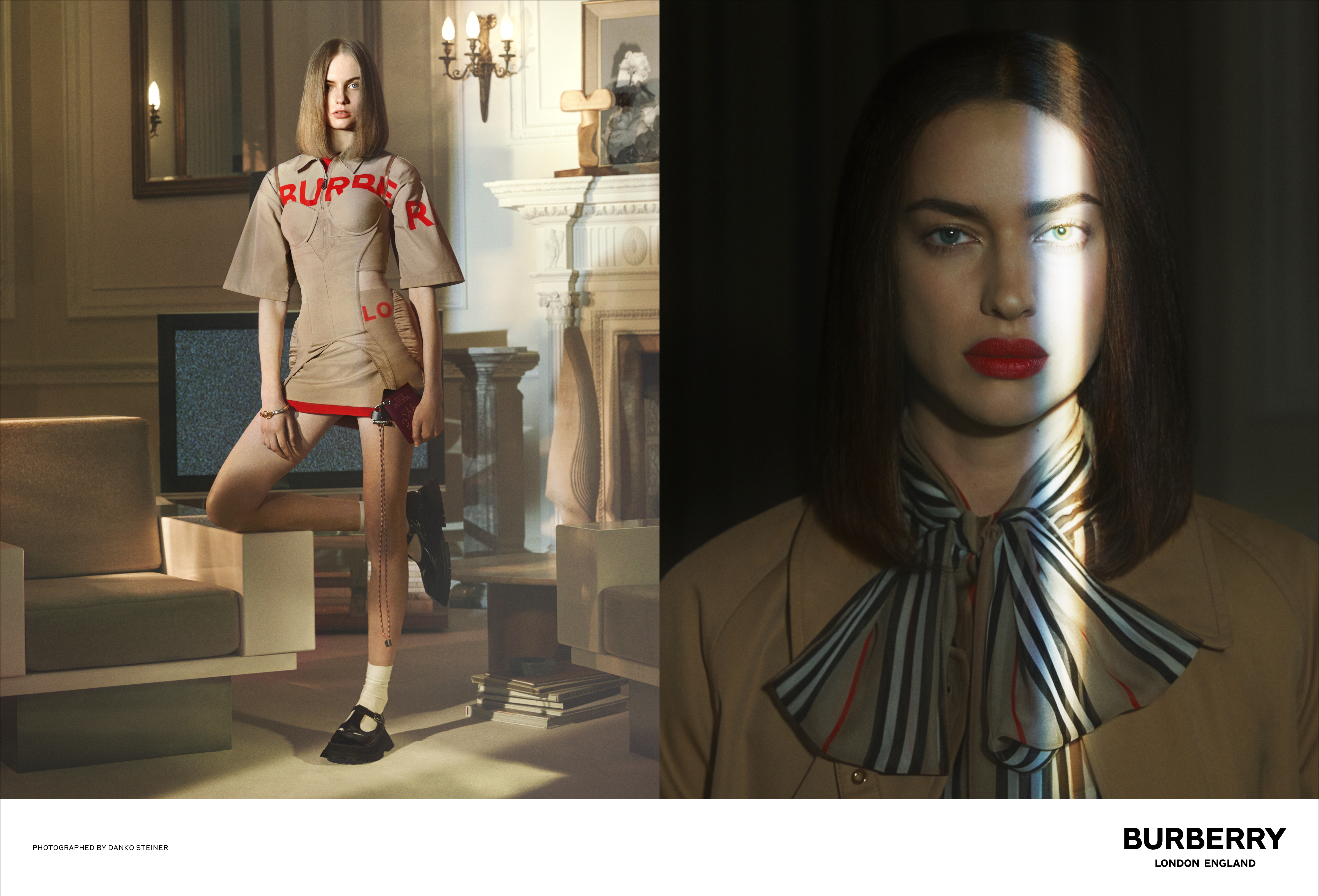 Riccardo Tisci Unveils His First Burberry Ad Campaign