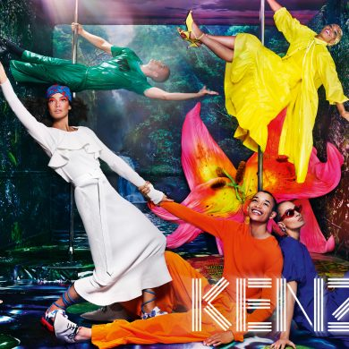 Kenzo Spring 2019 Ad Campaign