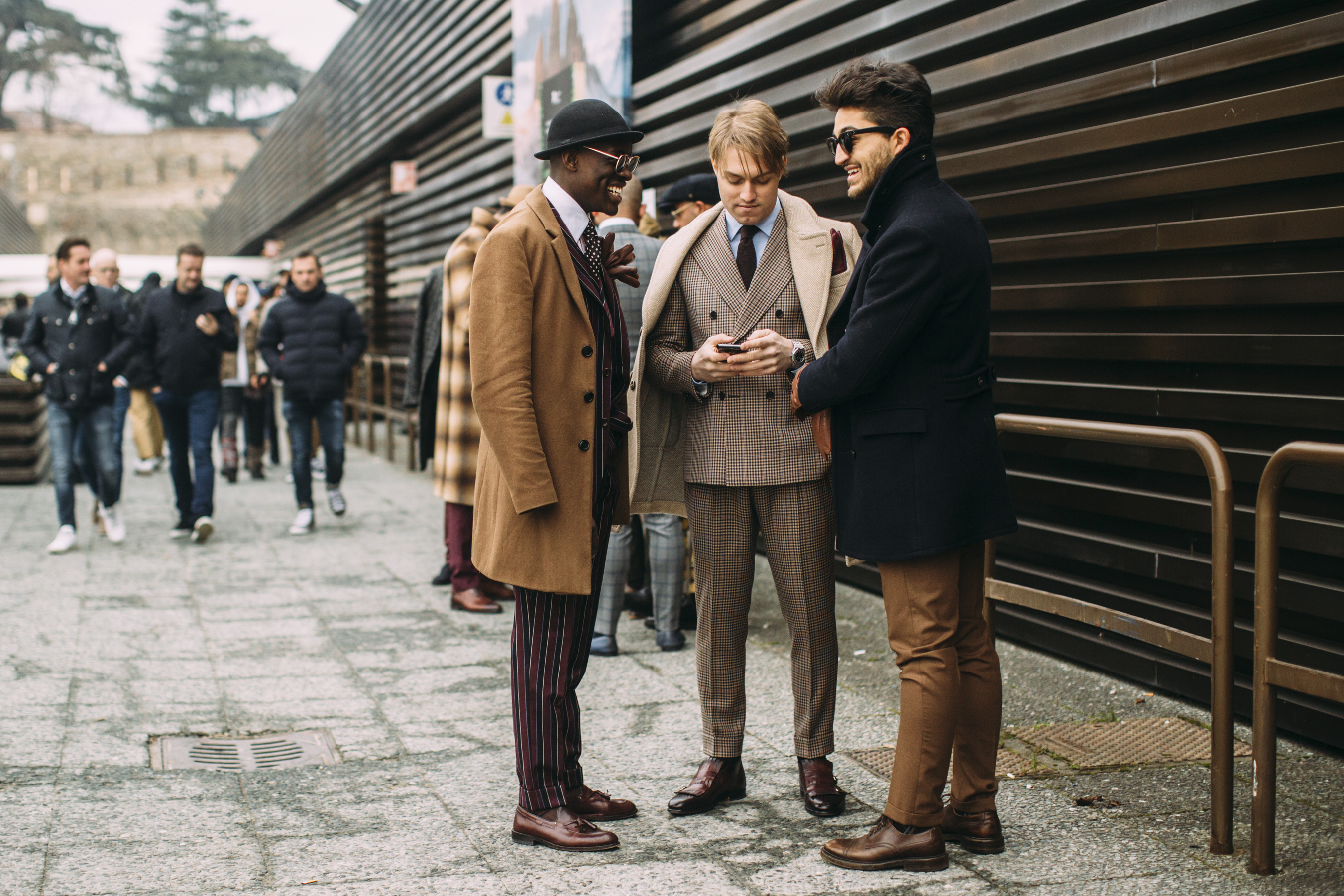 Firenze Pitti Uomo Men's Street Style Fall 2019 More Of Day 1