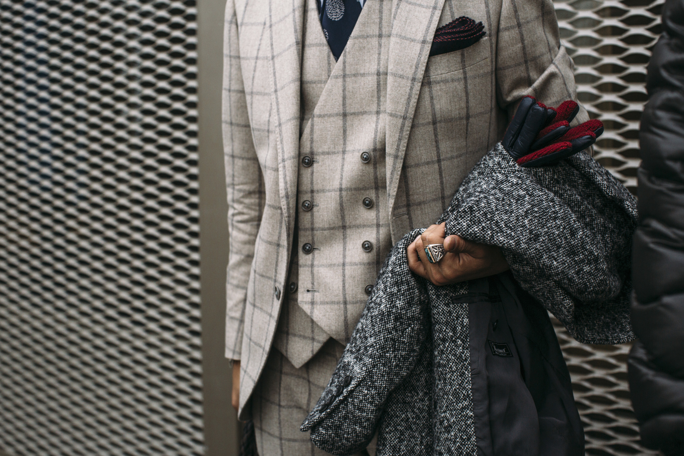 Firenze Pitti Uomo Men's Street Style Fall 2019 More Of Day 2
