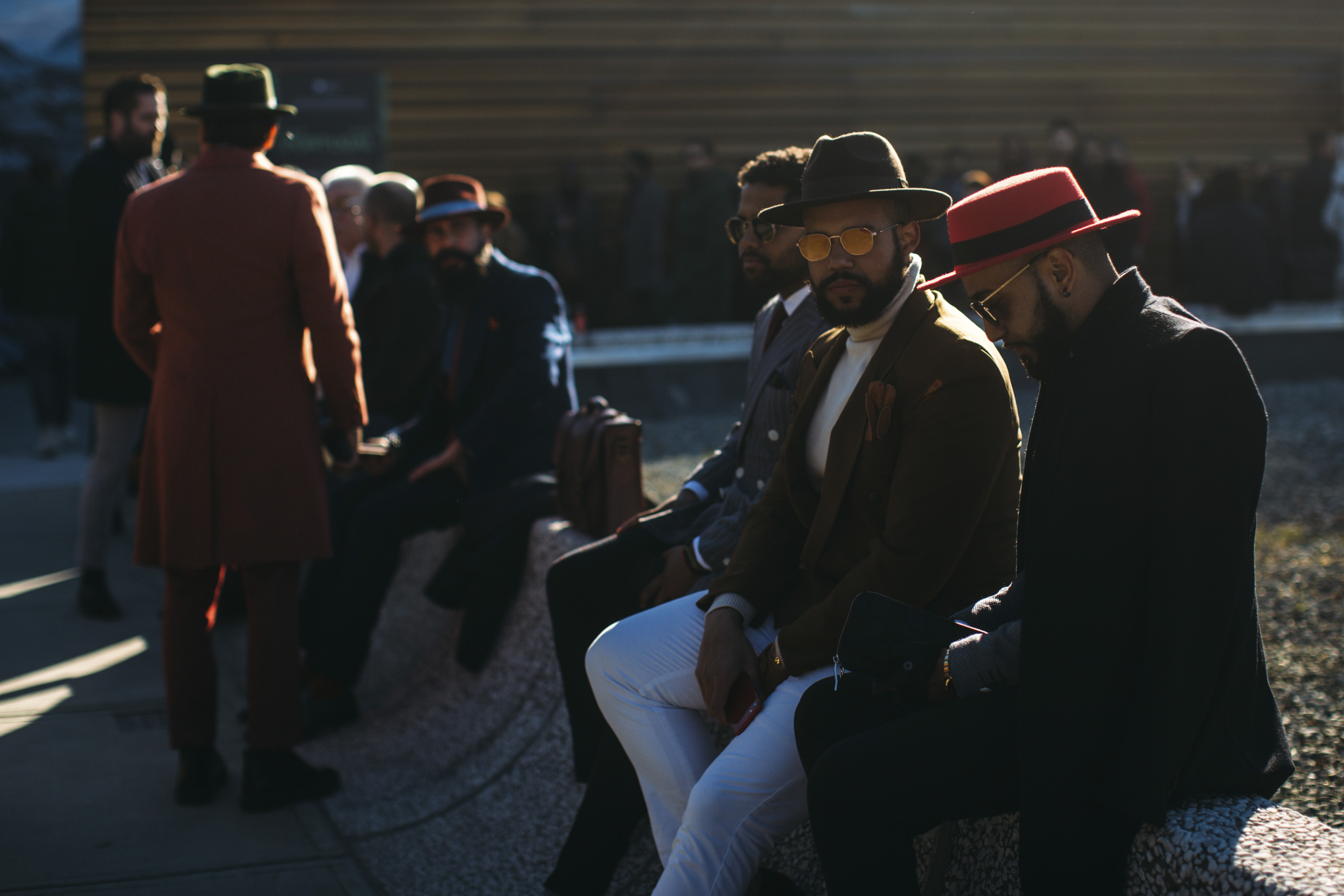 Firenze Pitti Uomo Men's Street Style Fall 2019 More Of Day 3