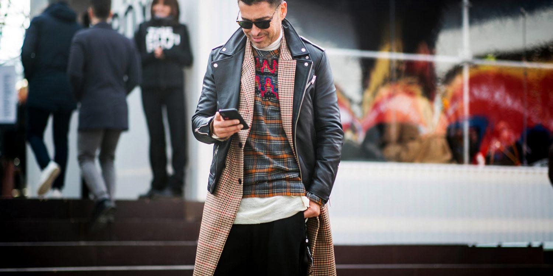 Firenze Pitti Uomo Men's Street Style Fall 2019 Day 2