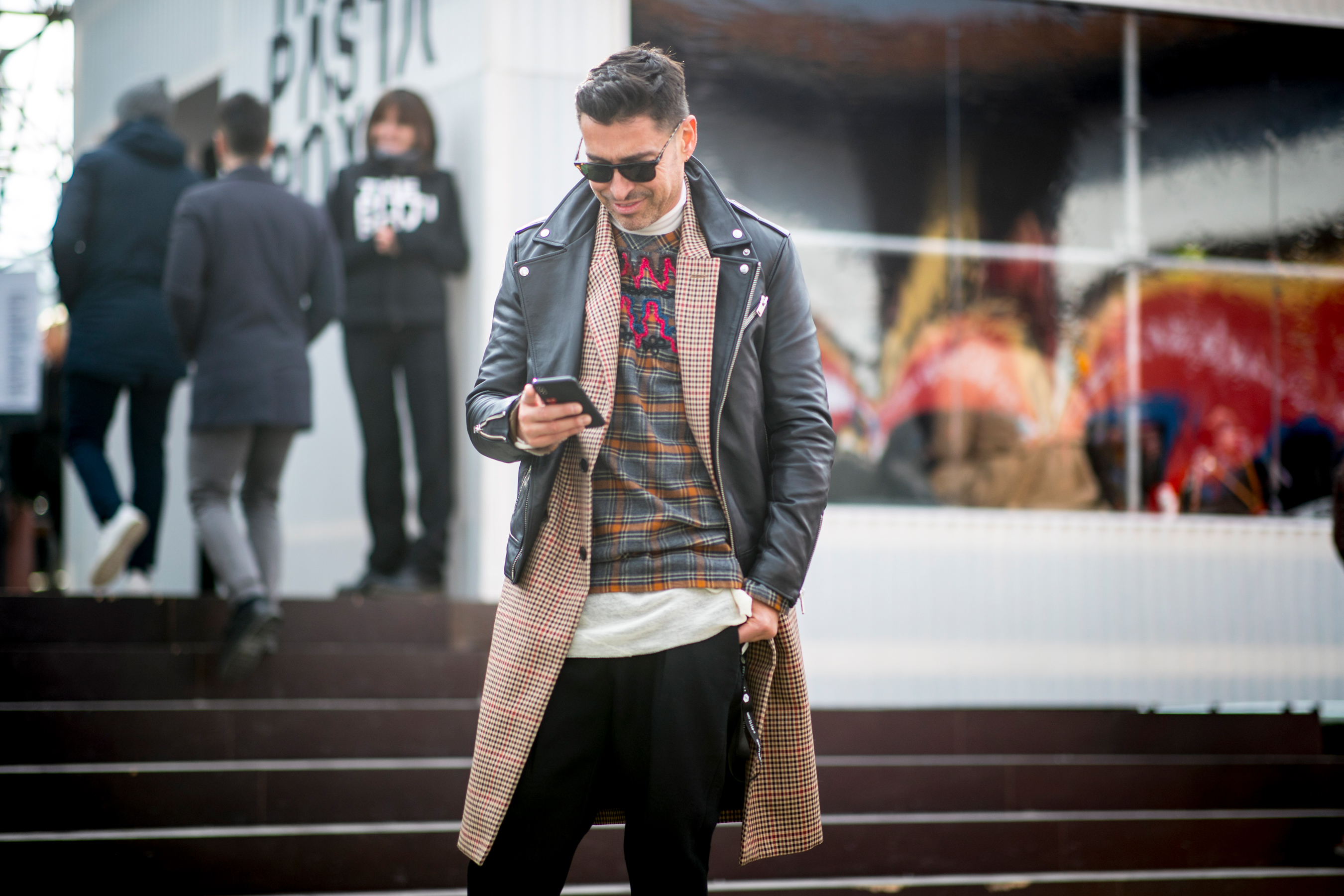 Firenze Pitti Uomo Men's Street Style Fall 2019 Day 2