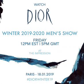Watch Dior Men's Fall 2019 Runway Live