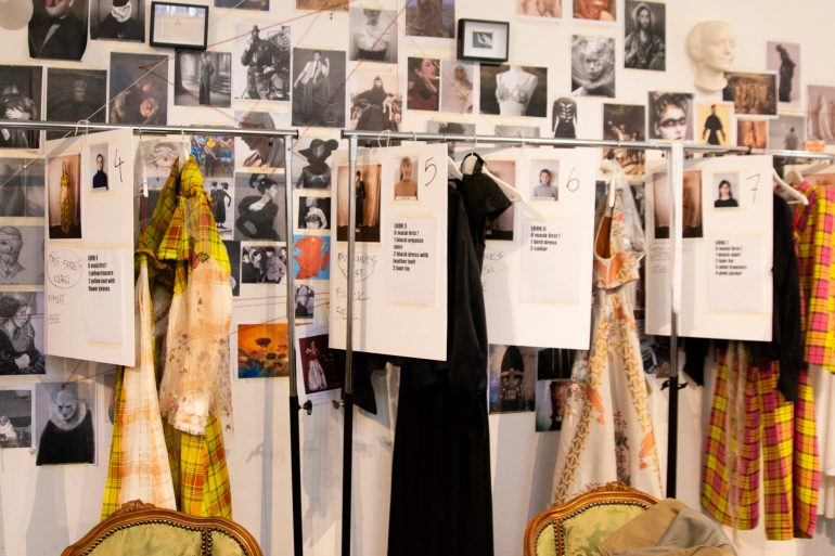 Aganovich Couture Spring 2019 Fashion Show Backstage