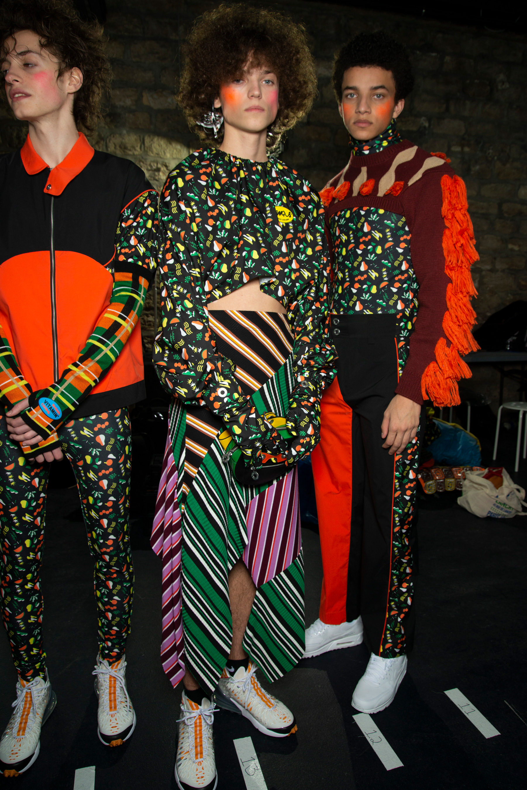 Angus Chiang Fall 2019 Men's Fashion Show Backstage