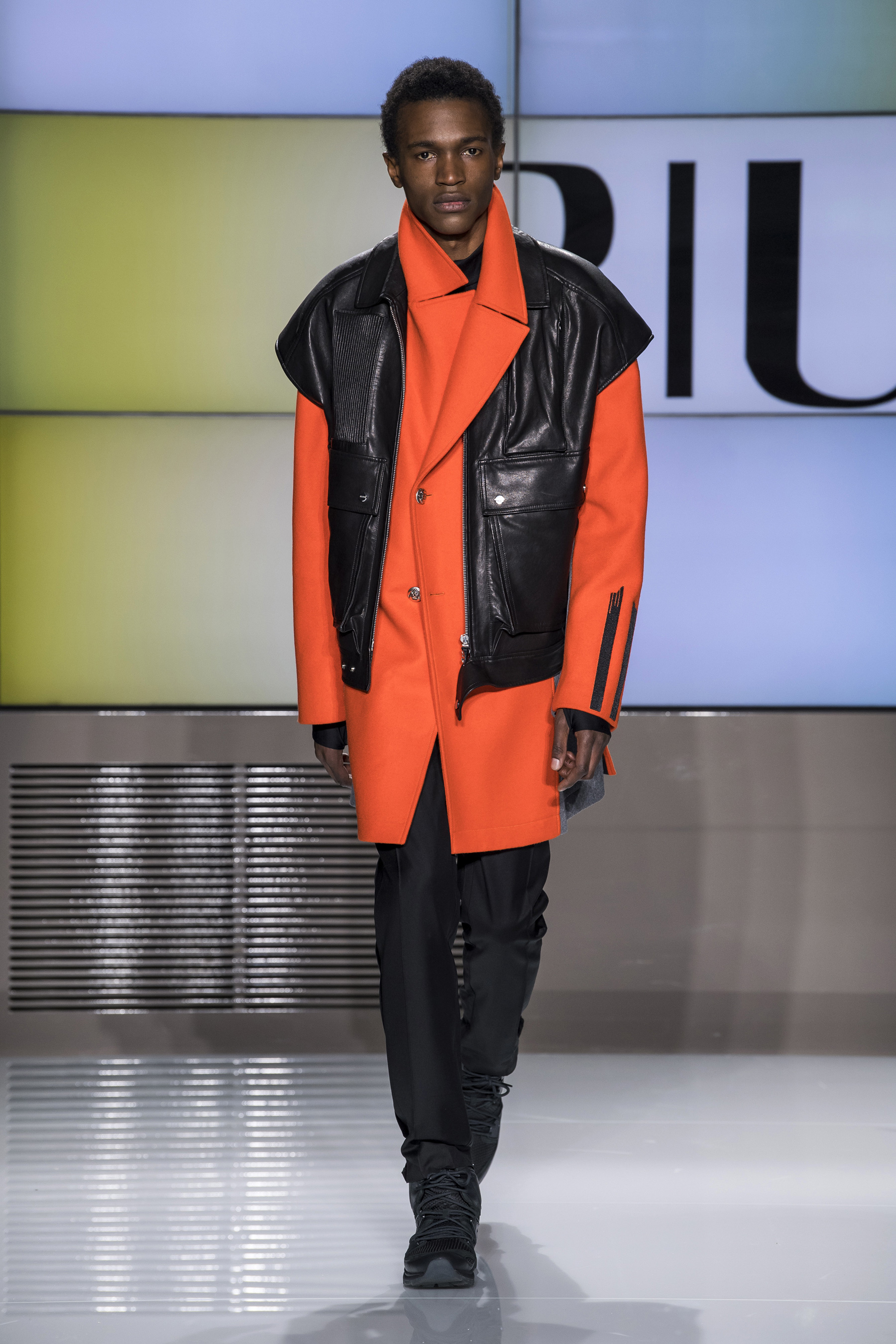 Orange Crush Fall 2019 Menswear Fashion Trend