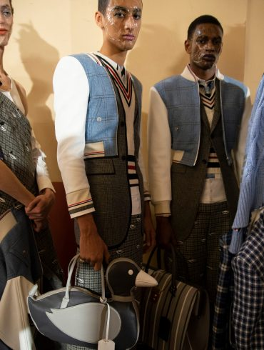 Thom Browne Fall 2019 Men's Fashion Show Backstage