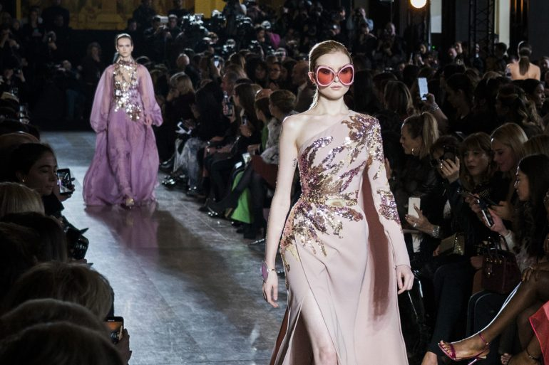 Elie Saab Couture Spring 2019 Fashion Show Atmosphere