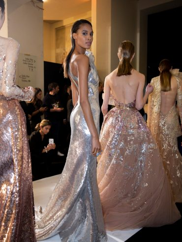 Elie Saab Couture Spring 2019 Fashion Show Backstage