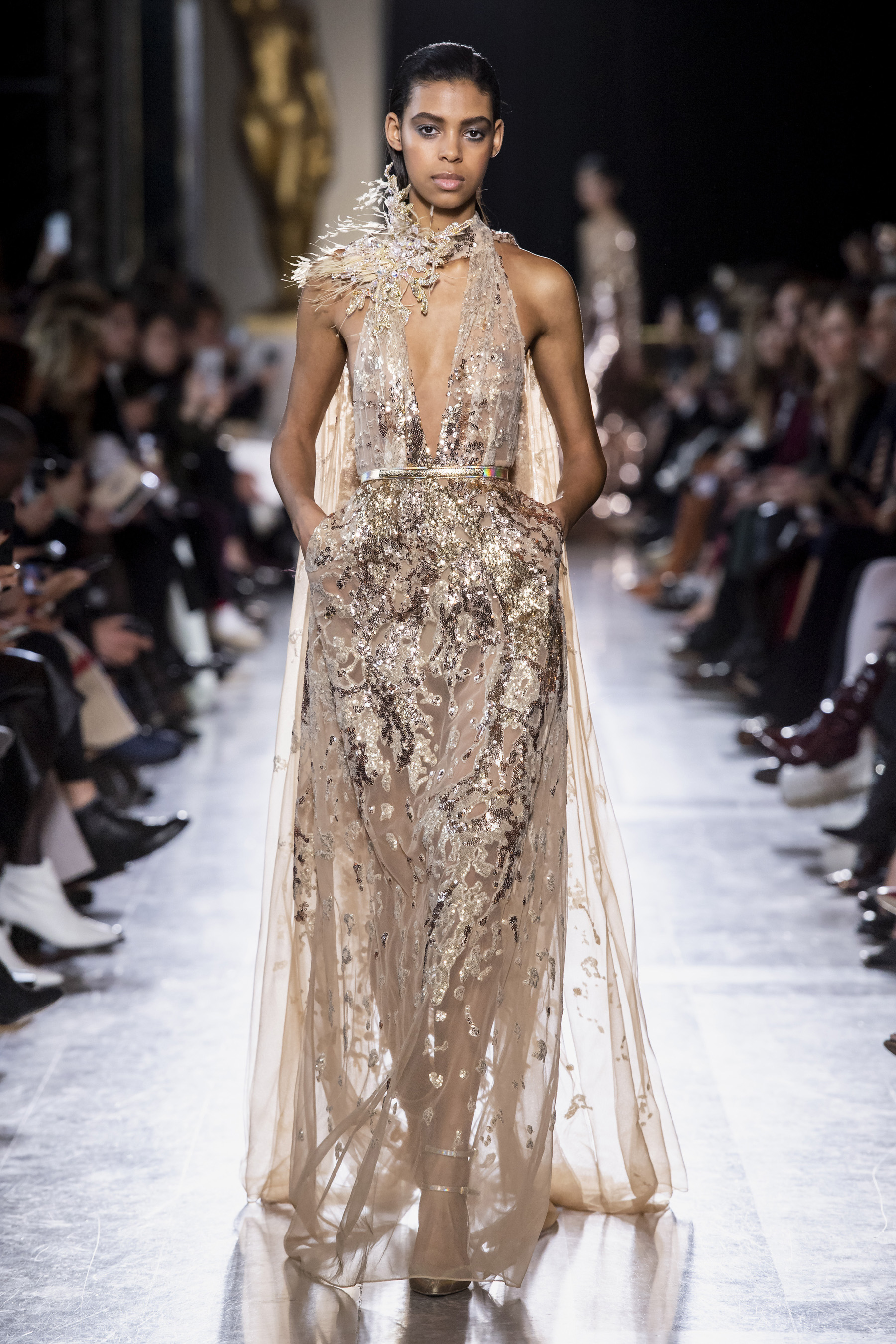 elie saab couture spring 2019 fashion show the impression