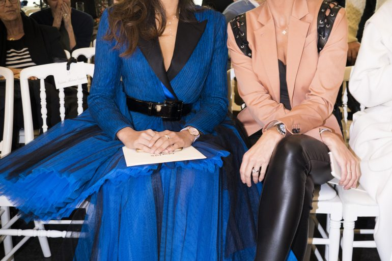 Jean Paul Gaultier Couture Spring 2019 Fashion Show Front Row