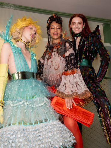 Jean Paul Gaultier Couture Spring 2019 Fashion Show Backstage