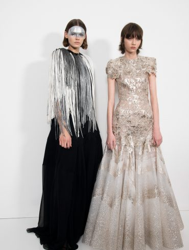 Givenchy Couture Spring 2019 Fashion Show Backstage