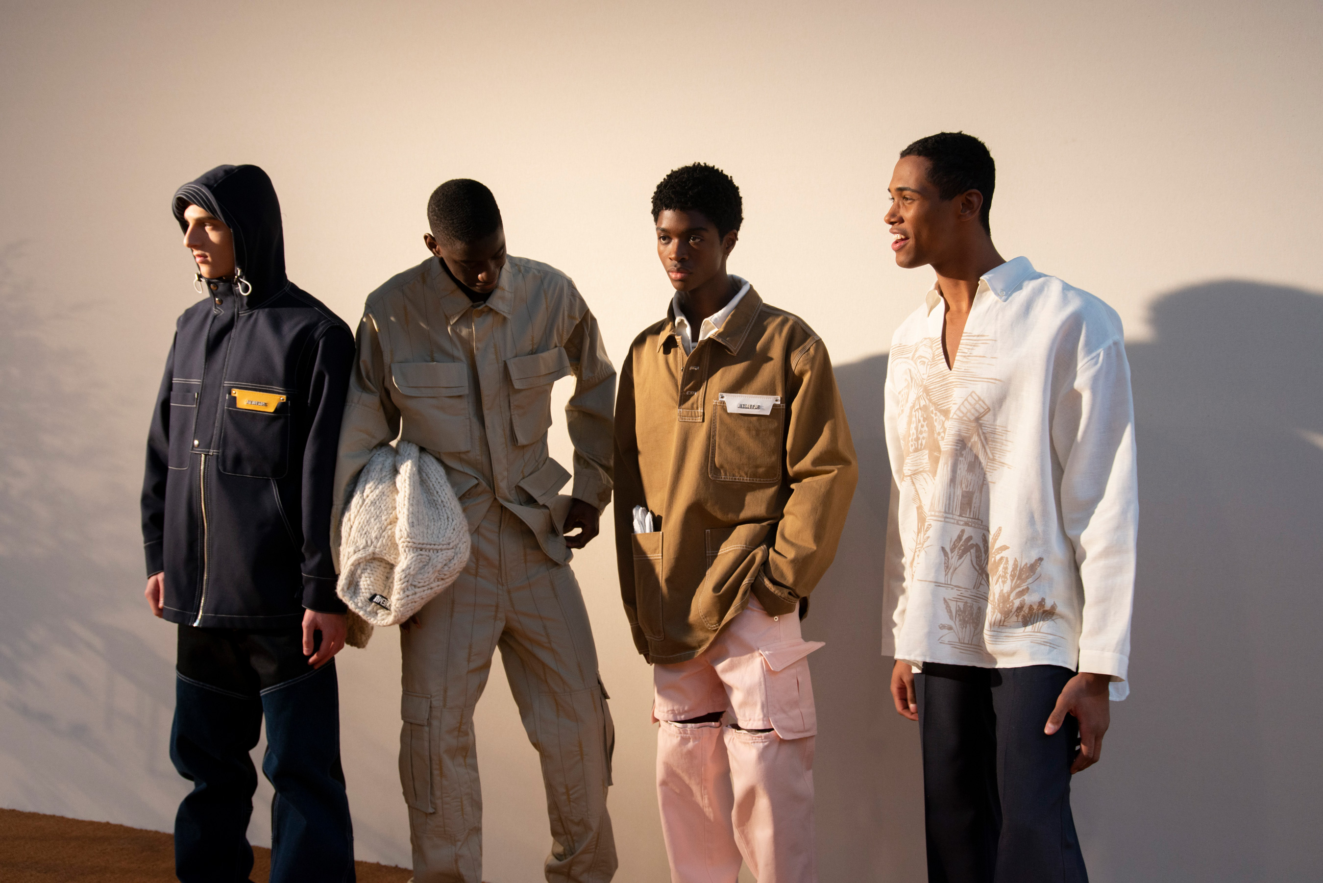 Jacquemus Fall 2019 Men's Fashion Show Backstage