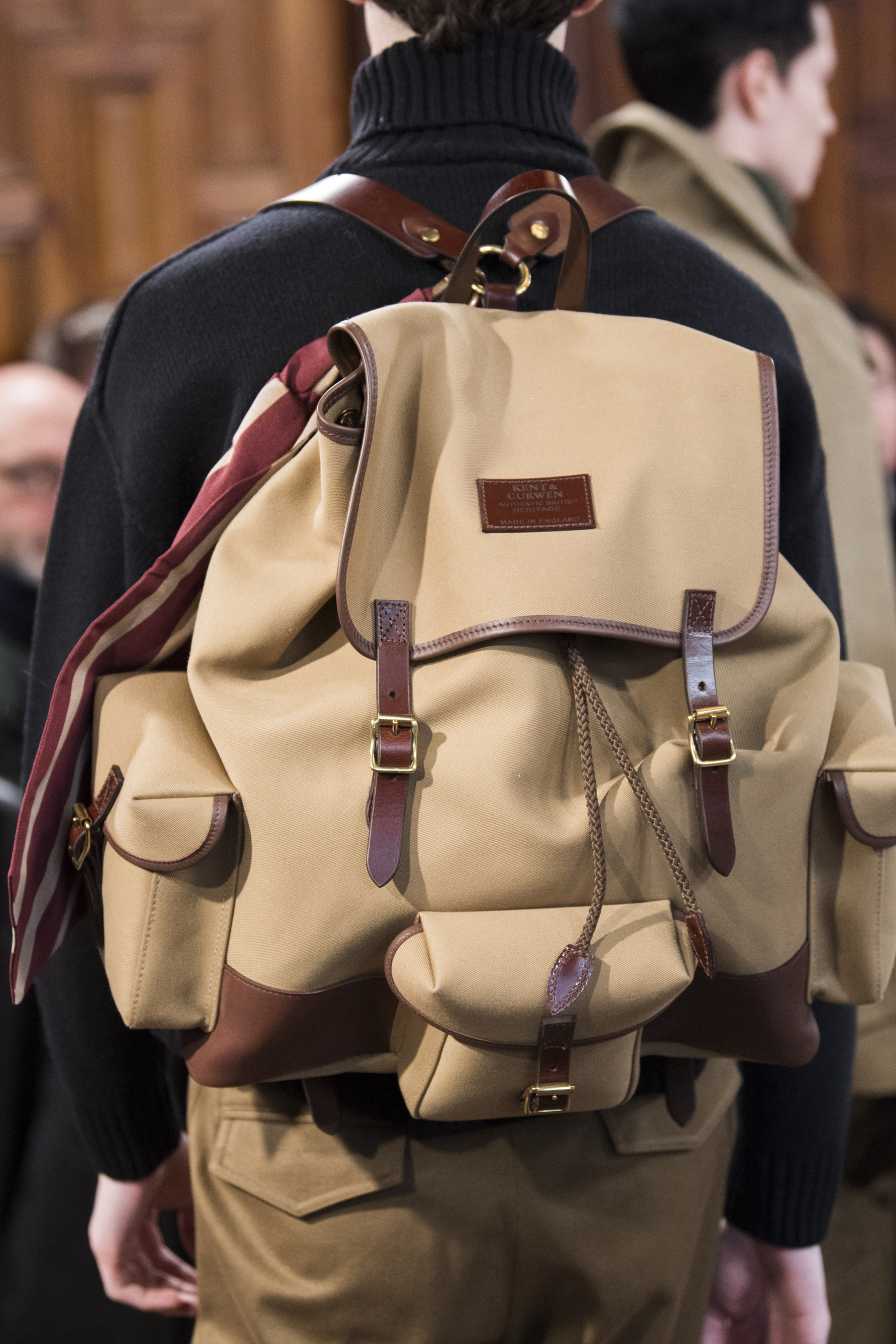 Kent & Curwen Fall 2019 Men's Fashion Show Details