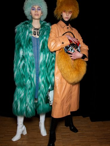 Kenzo Fall 2019 Men's Fashion Show Backstage