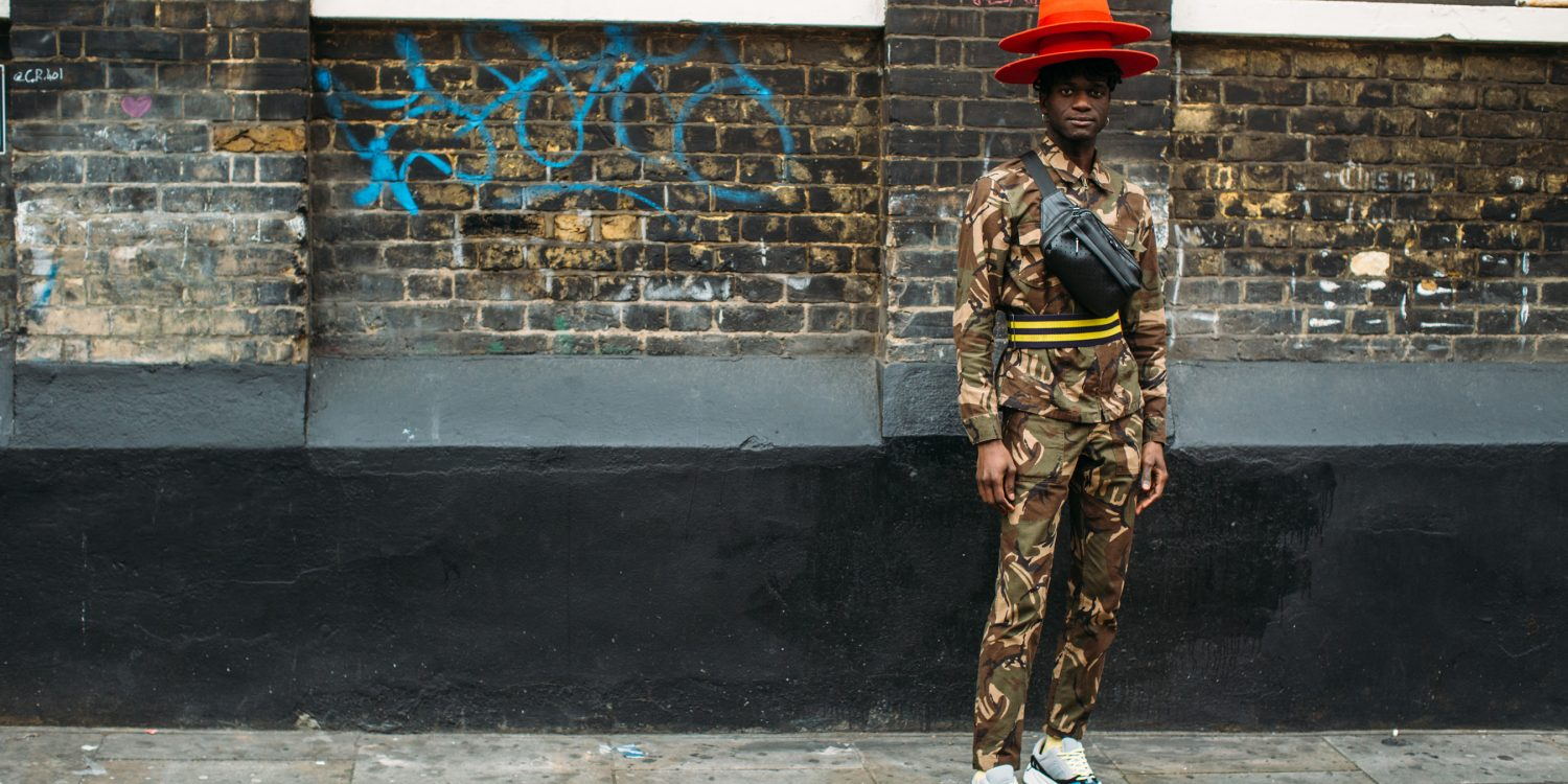 London Fashion Week Men's Street Style Fall 2019 Day 2
