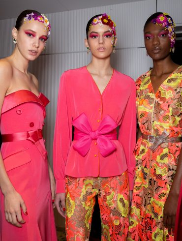 Alexis Mabille Couture Spring 2019 Fashion Show Backstage
