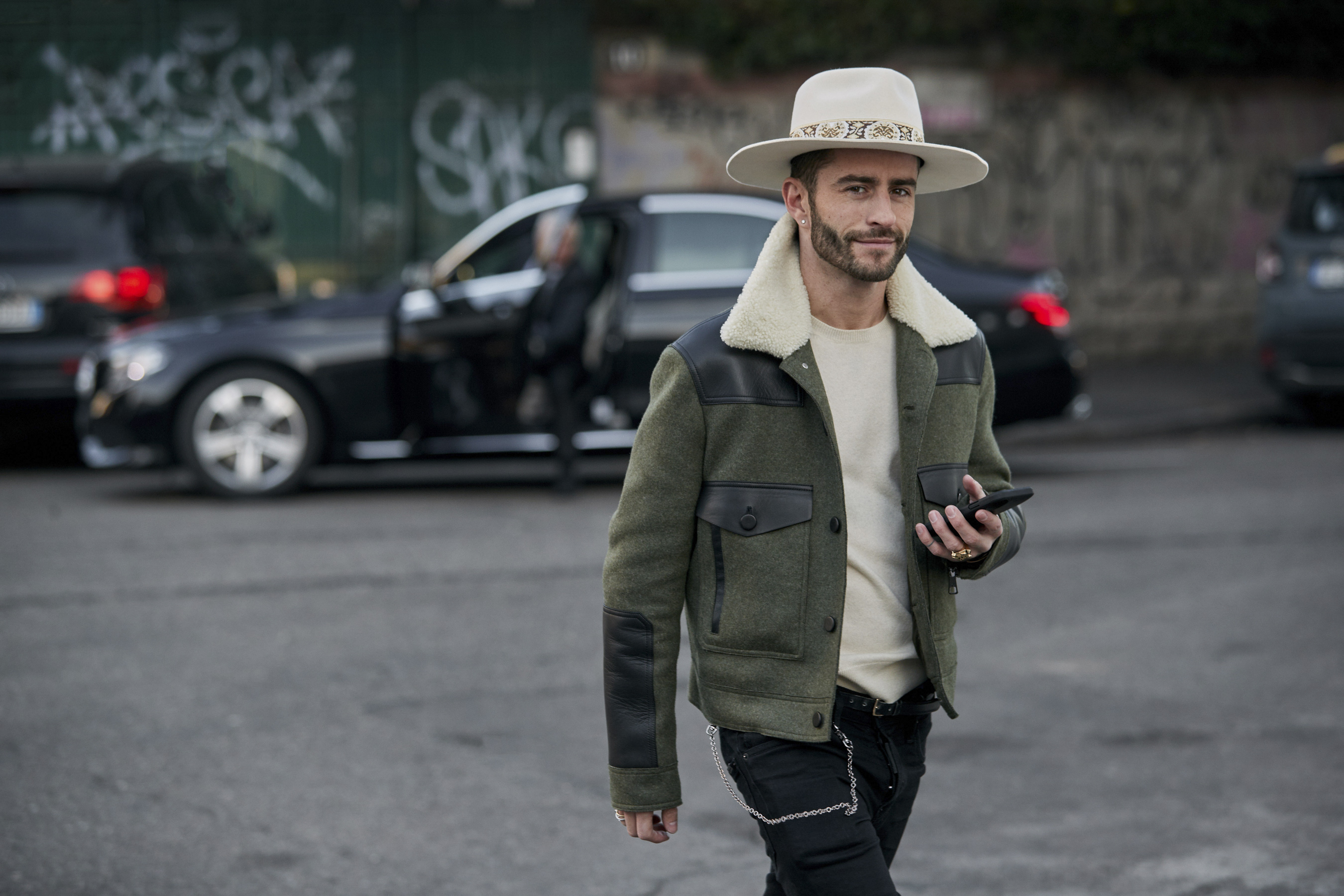 Milan Men's Street Style Fall 2019 More of Day 1