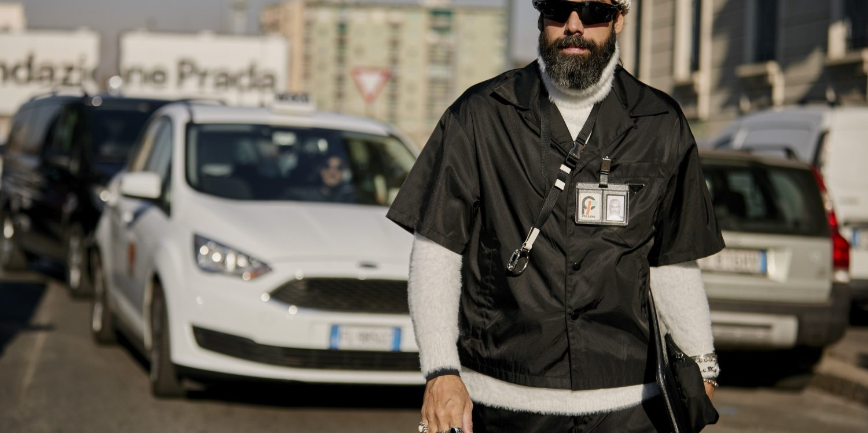 Milan Men's Street Style Fall 2019 More of Day 2