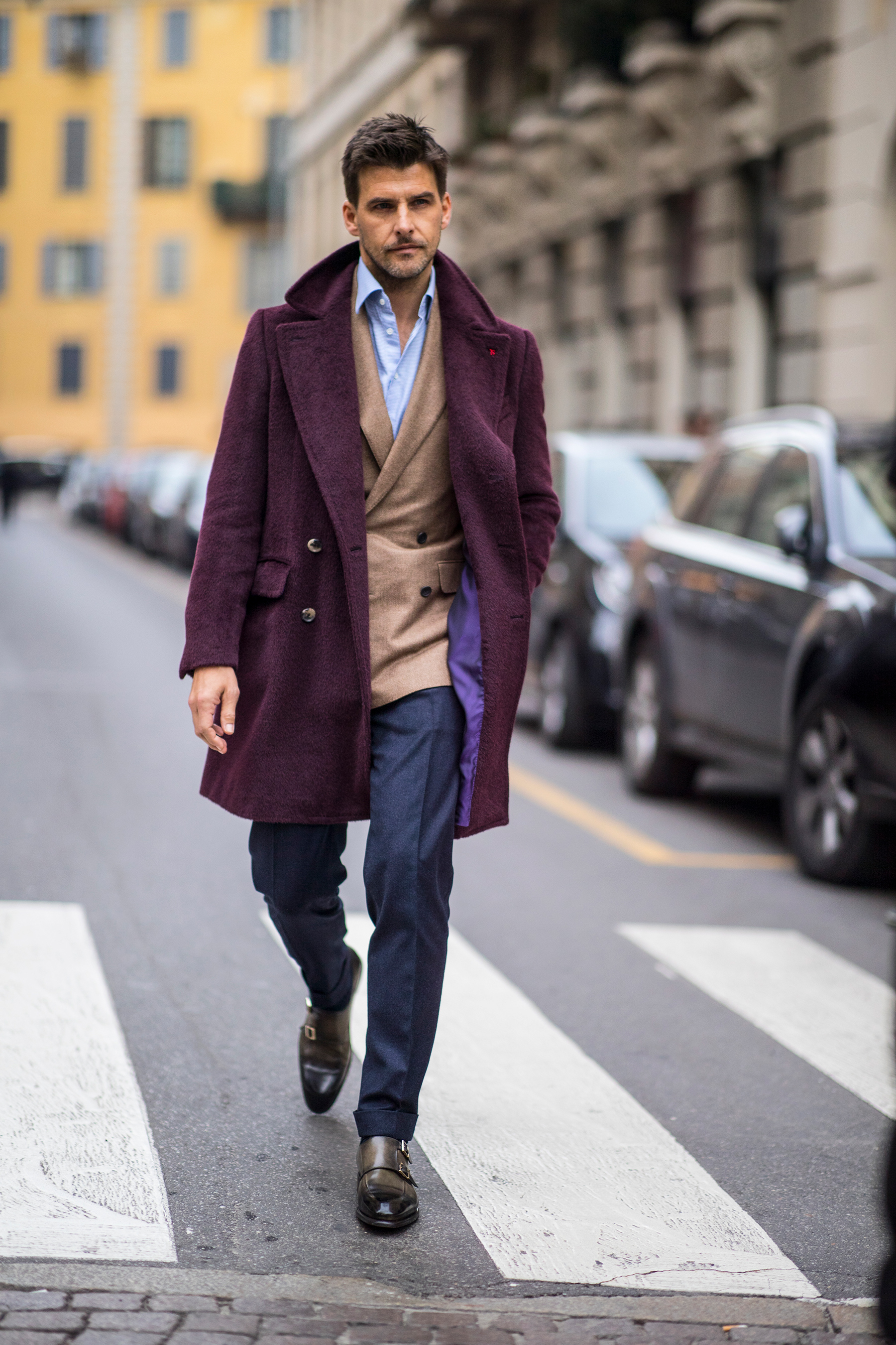 Milan Men's Street Style Fall 2019 Day 2