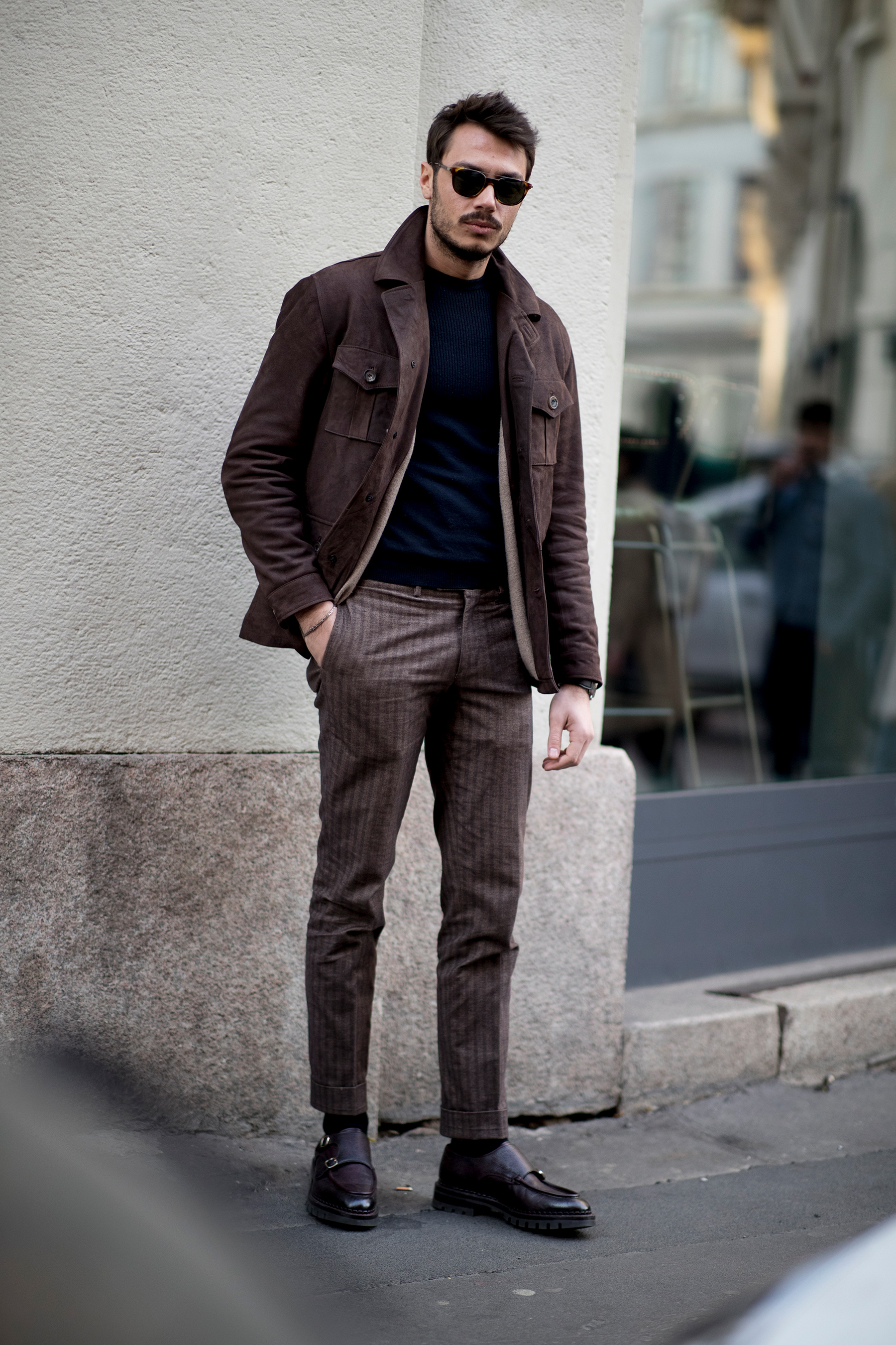 Milan Men S Street Style Fall 2019 Day 2 The Impression