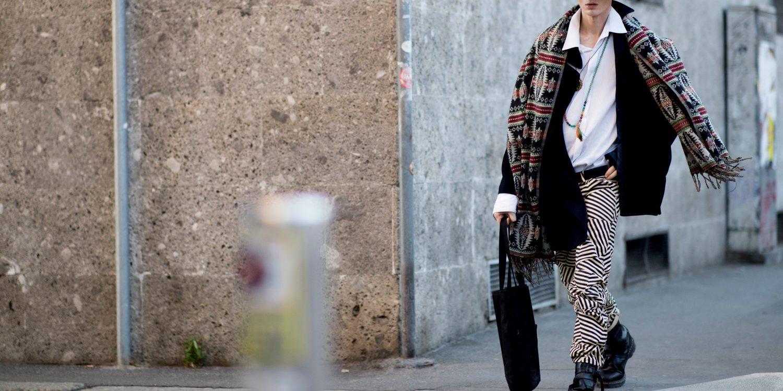 Milan Men's Street Style Fall 2019 Day 3