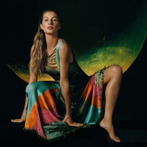 Missoni Spring 2019 Ad Campaign with Gisele