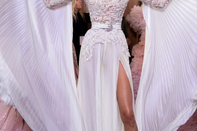 Zuhair Murad Couture Spring 2019 Fashion Show Backstage
