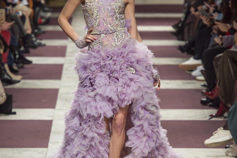 Ziad Nakad Couture Spring 2019 Fashion Show