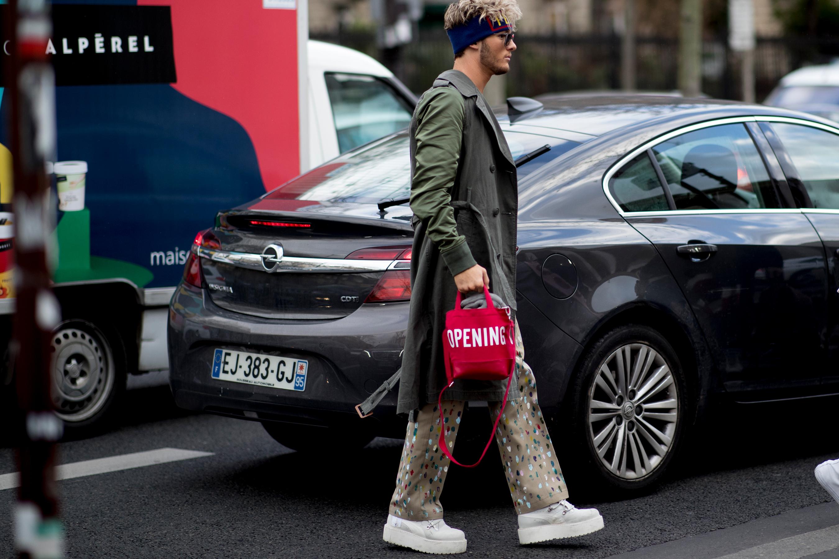 Paris Men's Street Style Fall 2019 Day 3