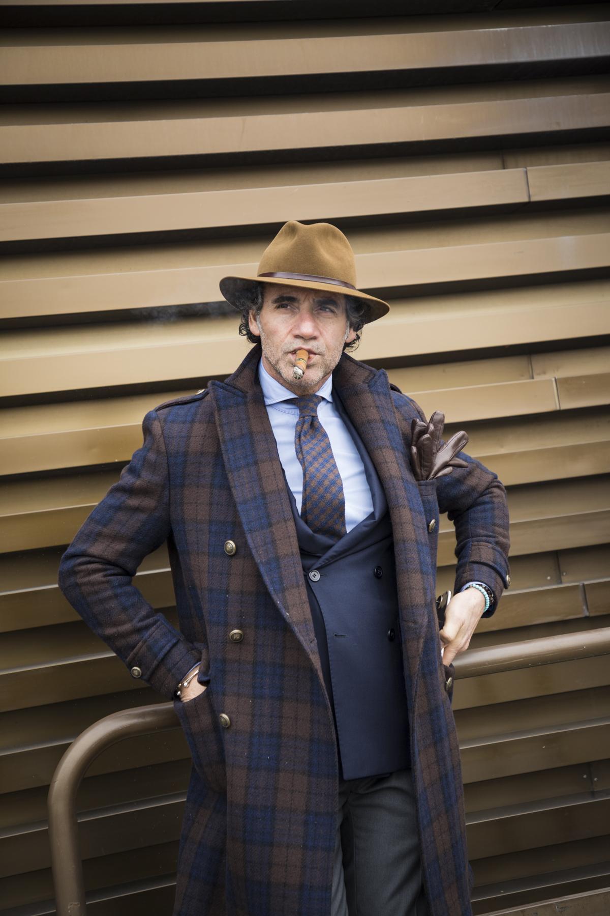 Pitti Uomo Fashion Week Men's Street Style Fall 2019Poli Alexeeva