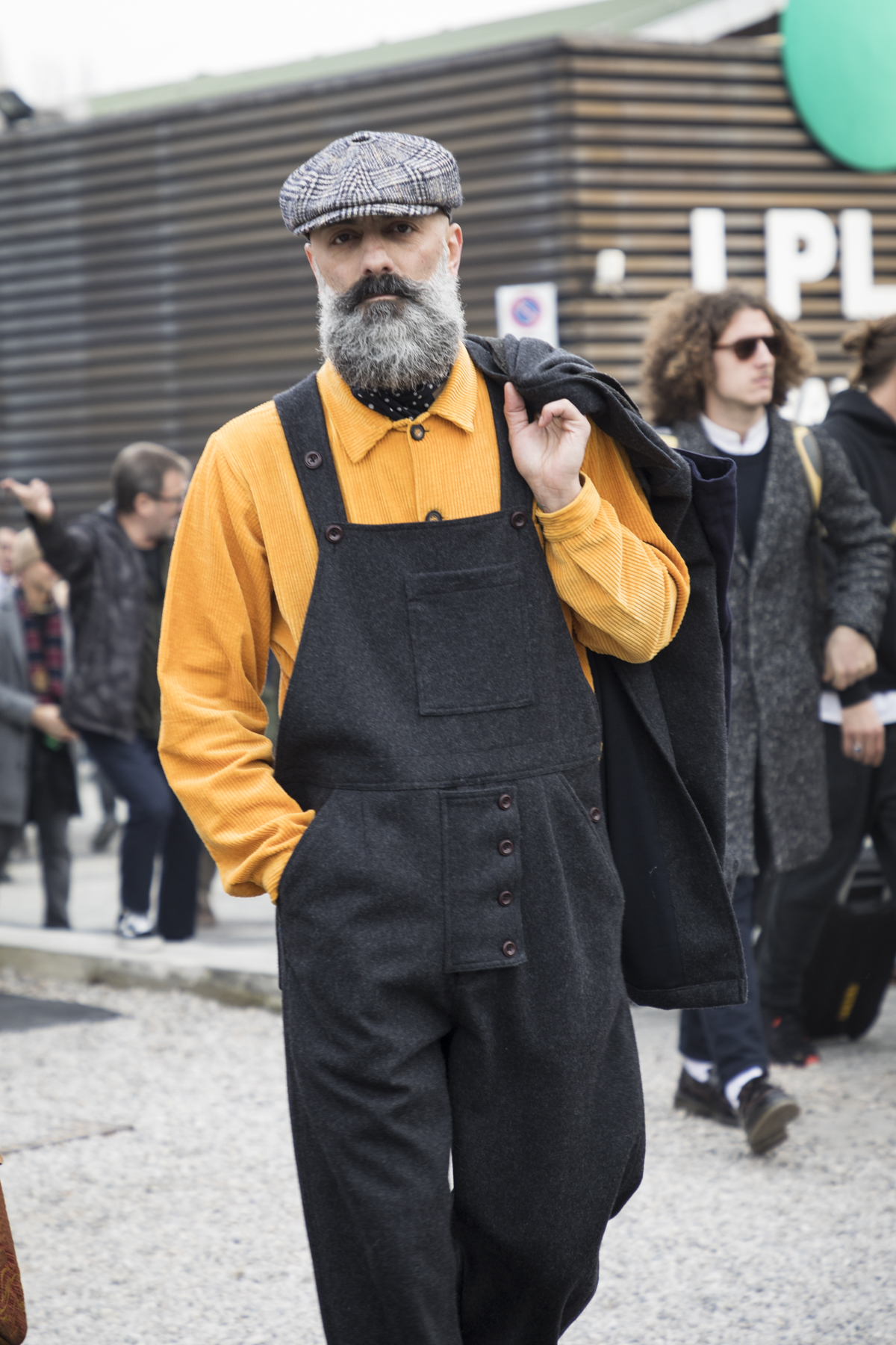 Pitti Uomo Fashion Week Men's Street Style Fall 2019 Poli Alexeeva