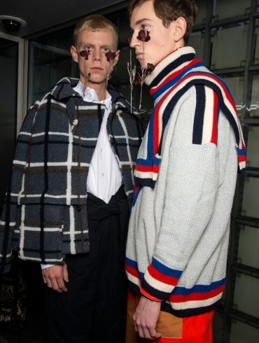 Henrik Vibskov Fall 2019 Men's Fashion Show Backstage