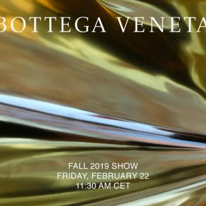 Watch Bottega Veneta ​Fall 2019 Runway Show Live