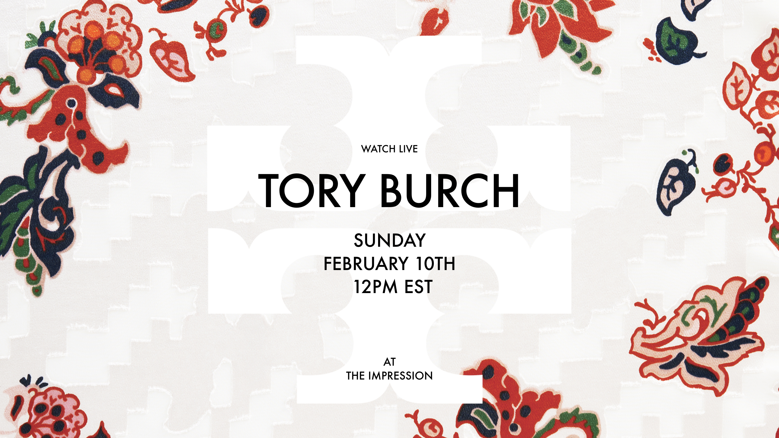 Watch Tory Burch ​Fall 2019 Runway Show Live