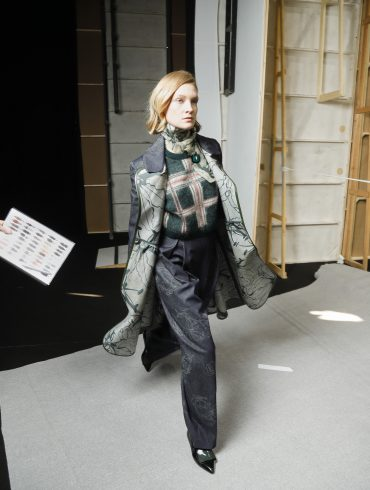 Anteprima  Bis Fall 2019 Fashion Show Backstage