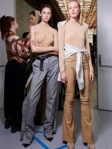 Ben Taverniti Unravel Project Fall 2019 Fashion Show Backstage