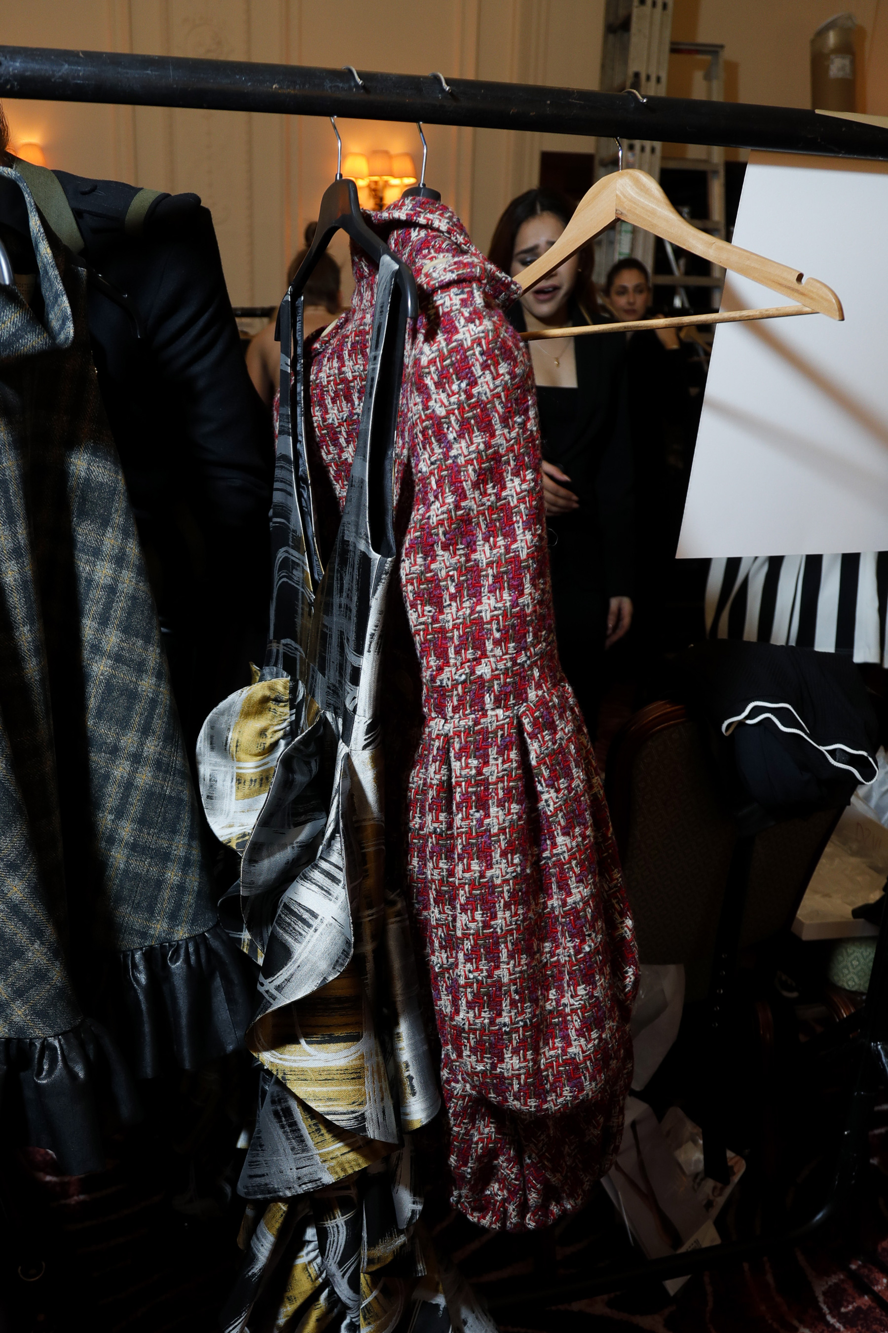 Paul Costelloe Fall 2019 Fashion Show Backstage